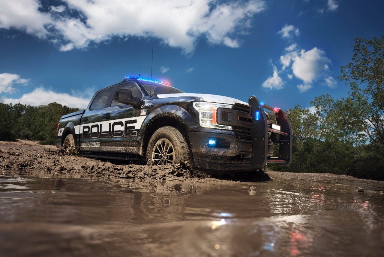 Ford Has a New F-150 Police Truck…