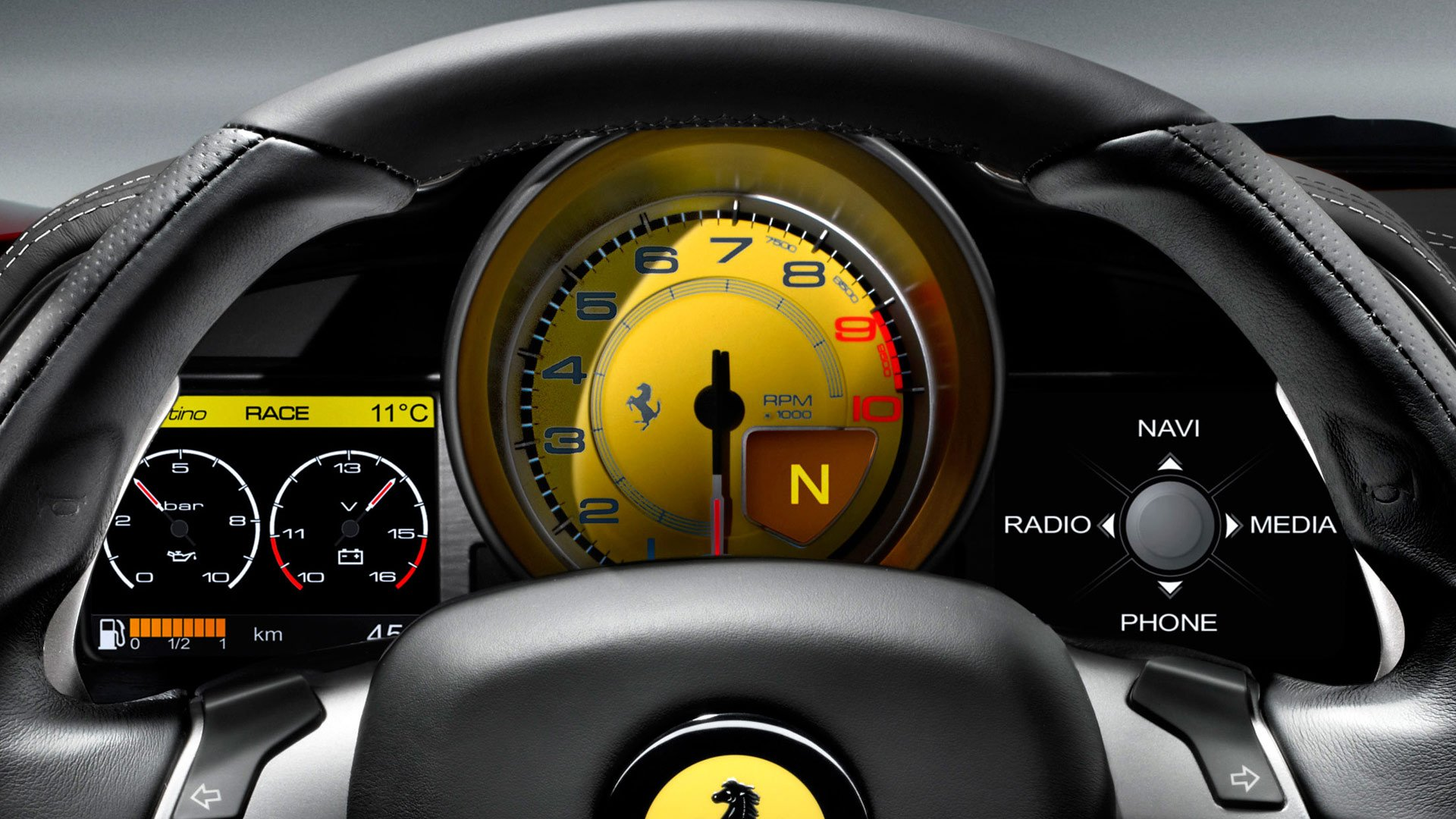 Ferrari Gauge Cluster For My Gt Ford Mustang Forum