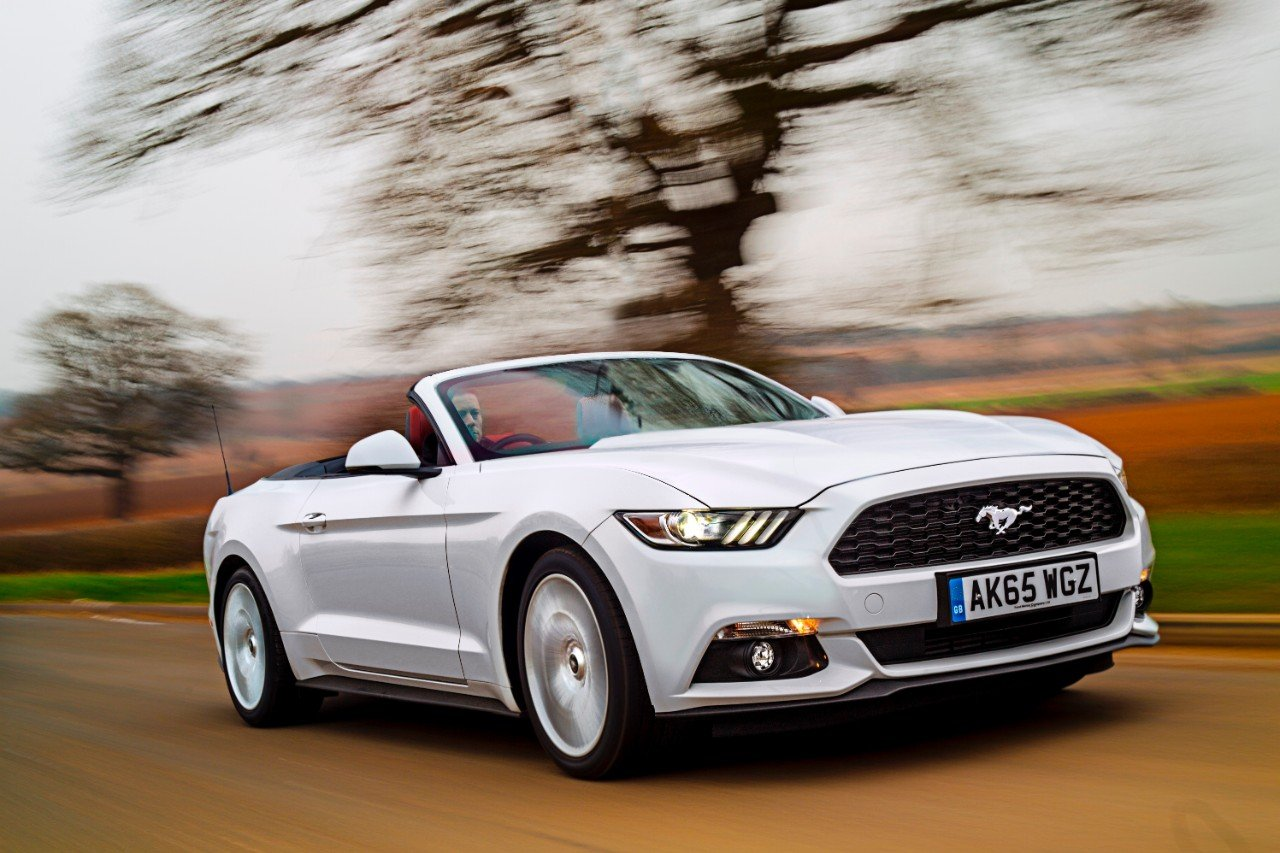 Fiest 1000 ford mustangs delivered to uk customers throughout its life the mustang gt