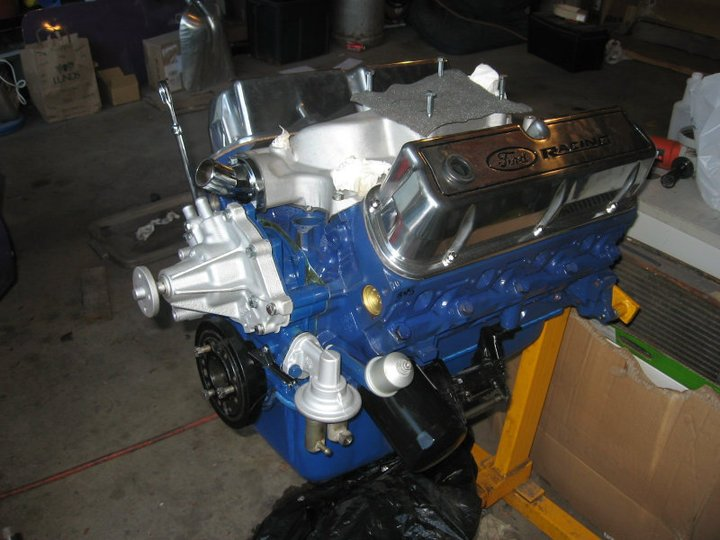 Old ford blue engine paint for Ford motor paint colors