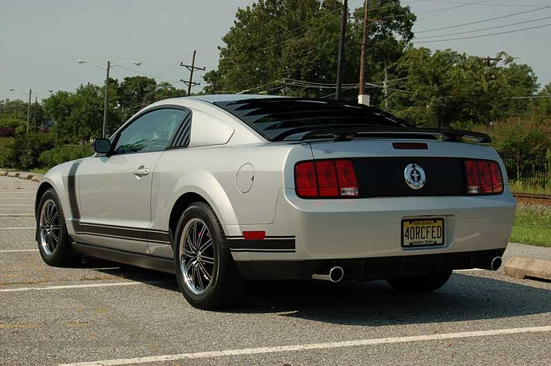 Which Rear Window Louver To Get Ford Mustang Forum