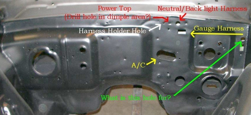 1966 Mustang Firewall Wiring/Grommets Locations | Ford Mustang ForumAll Ford Mustangs