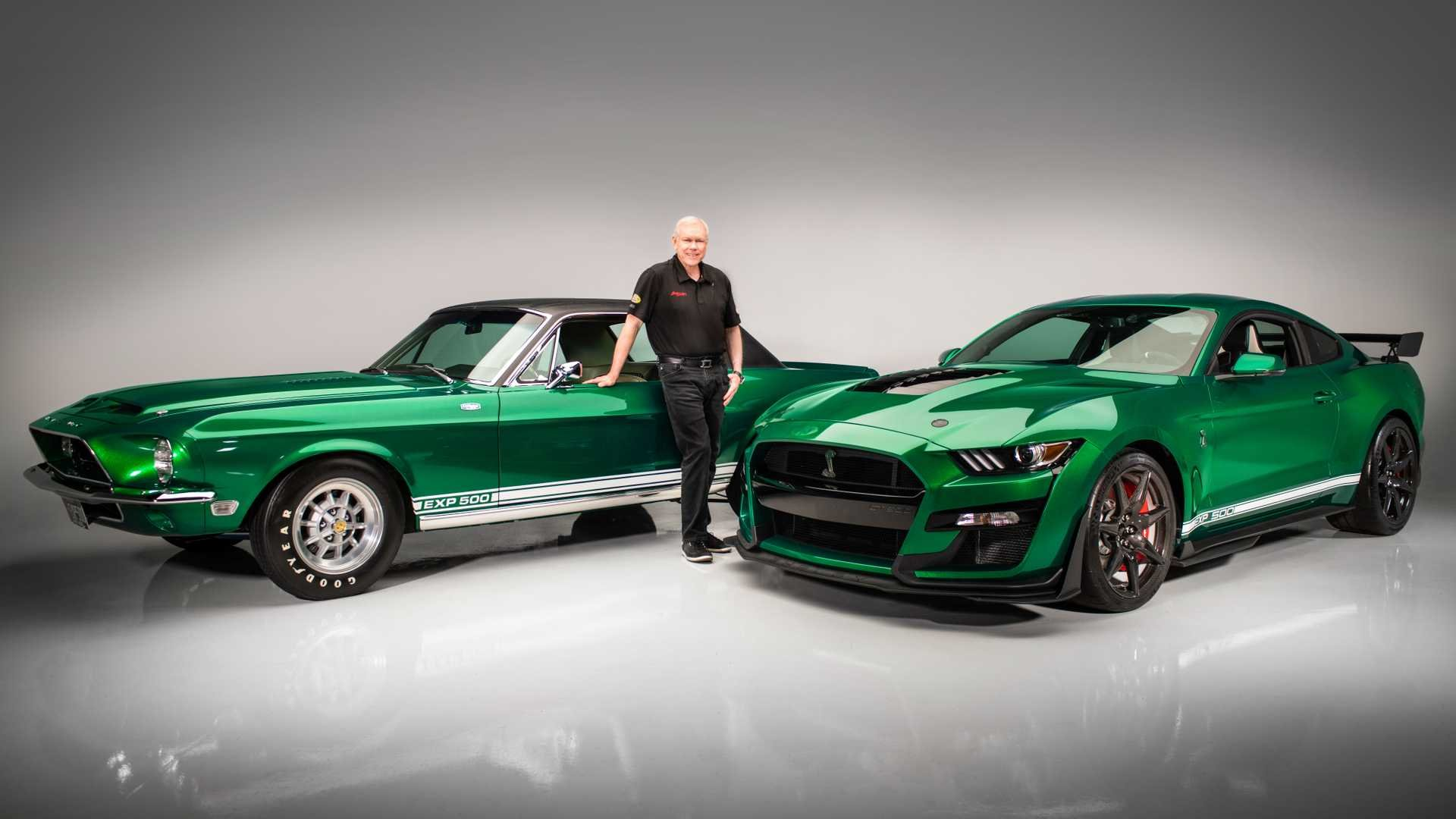 Not that Green Hornet: GT500 VIN 001's Paint is Inspired by Shelby Prototype