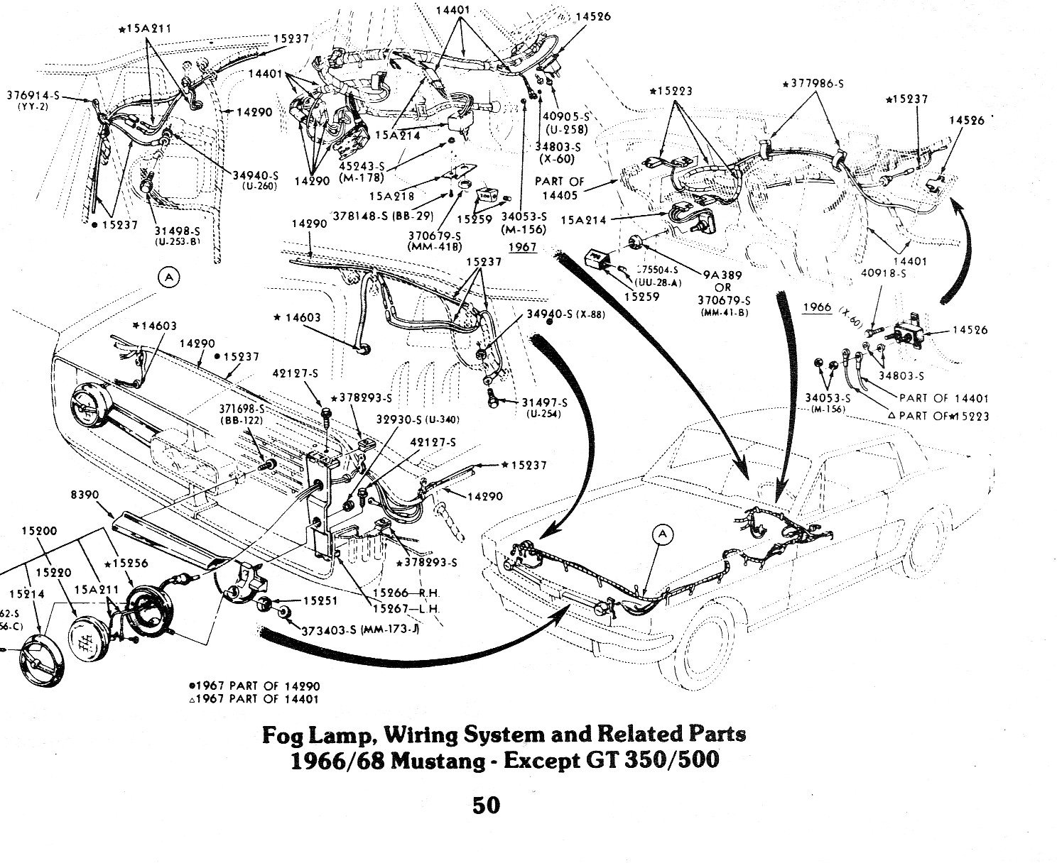 [DIAGRAM_3ER]  Fog light wiring on a 1968 Mustang | Ford Mustang Forum | Light Switch Wiring Diagram 1968 Mustang |  | All Ford Mustangs