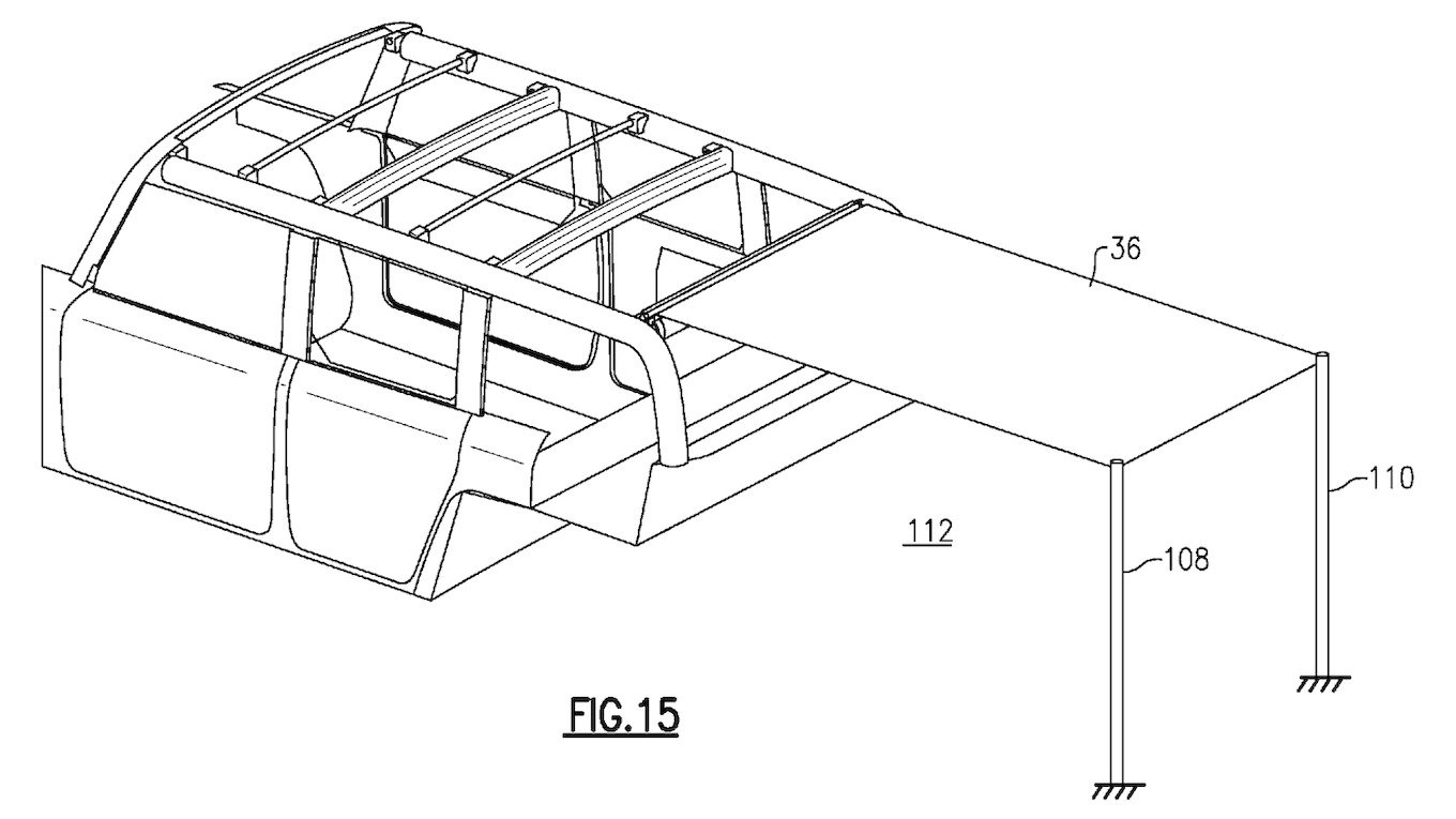 Ford Patents Cool New Picnic-Ready Retractable Roof