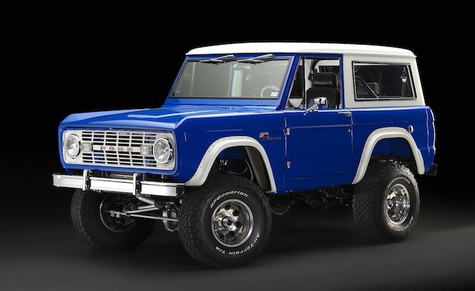 Restomod 1966 Ford Bronco Boasts a 5.0L Coyote V8