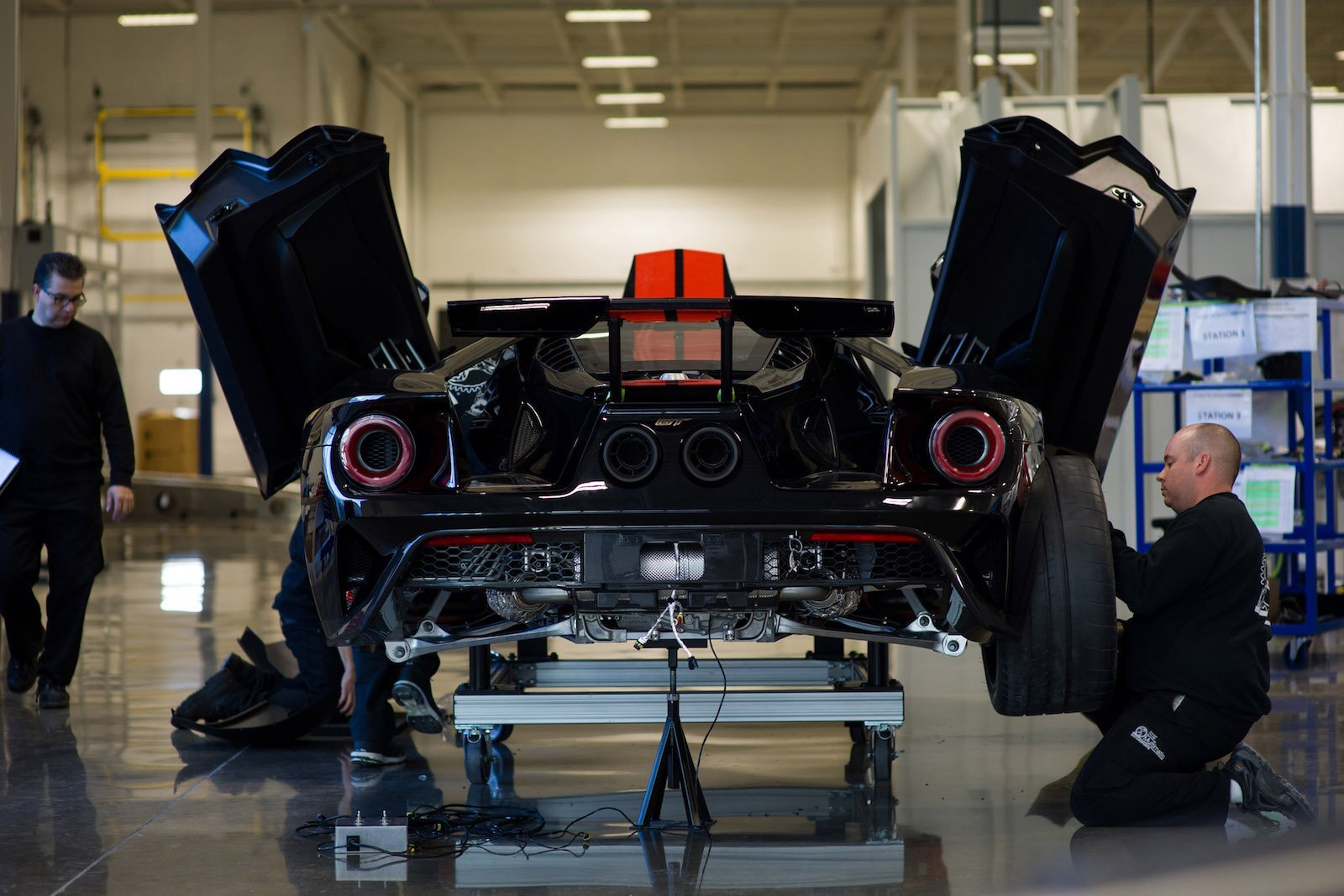 The First Ford GT is Finally Finished…