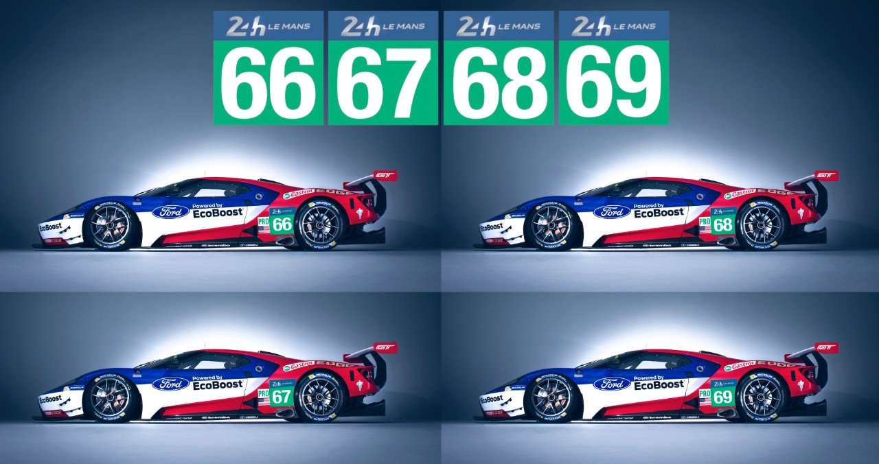 Ford Gt Racecar Numbers_image