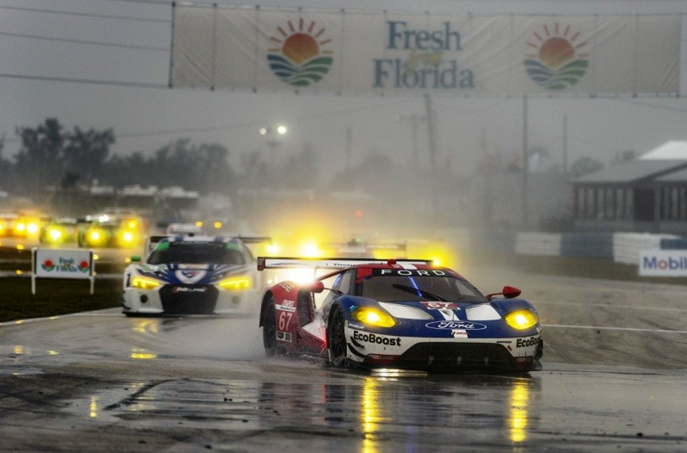 Ford GT Places 5th and 8th in class at 12 Hours of Sebring
