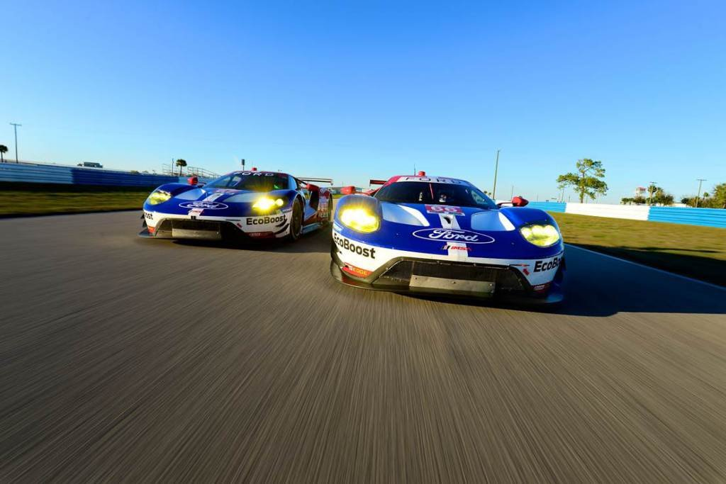 Ford GT Qualifies on the Second Row For the Twelve Hours of Sebring