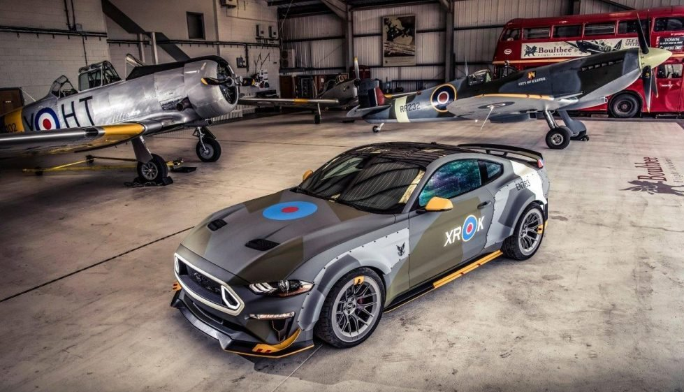 Eagle Squadron Mustang Ready for Takeoff at Goodwood