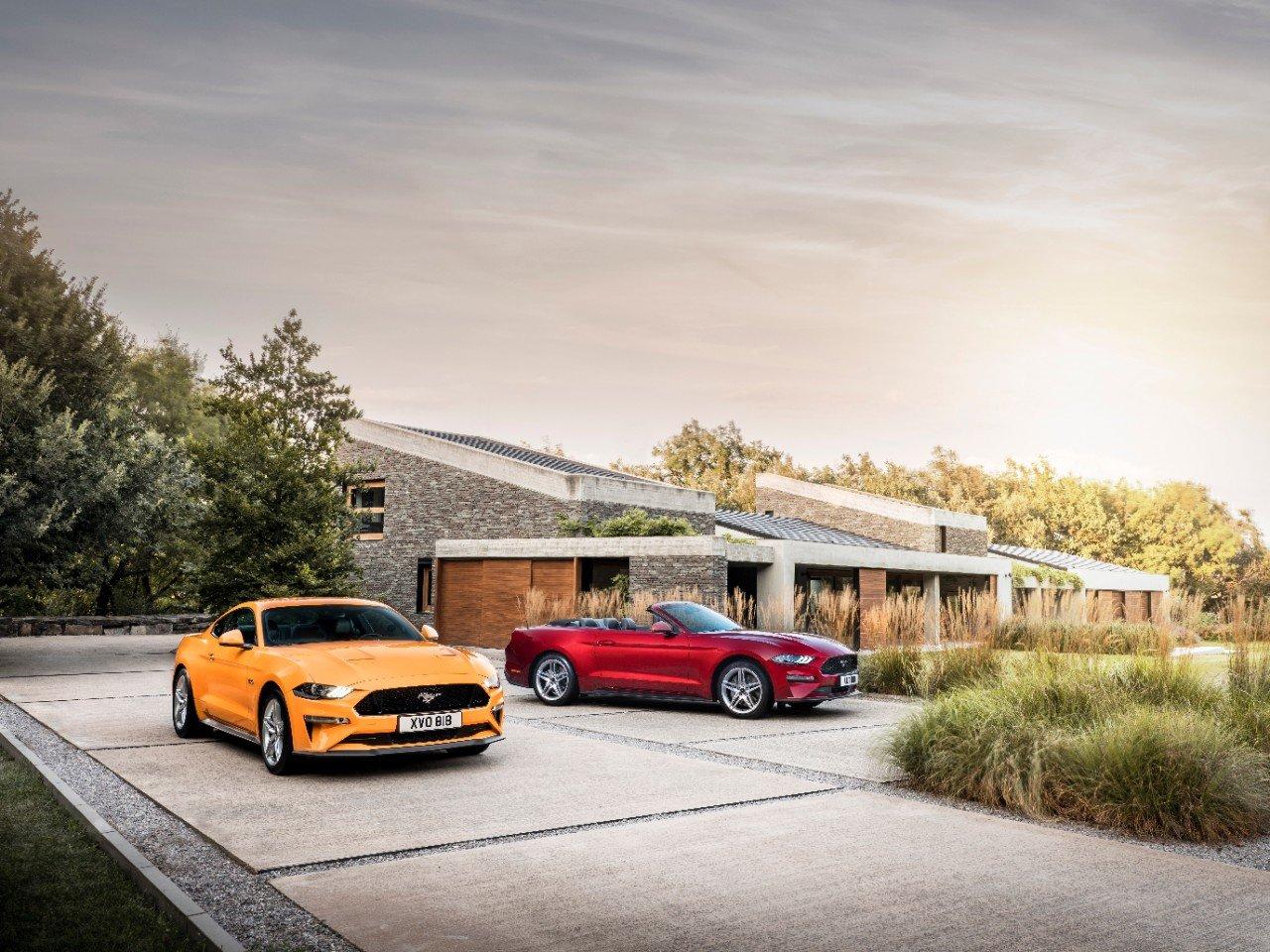 2018 Mustang Makes European Debut