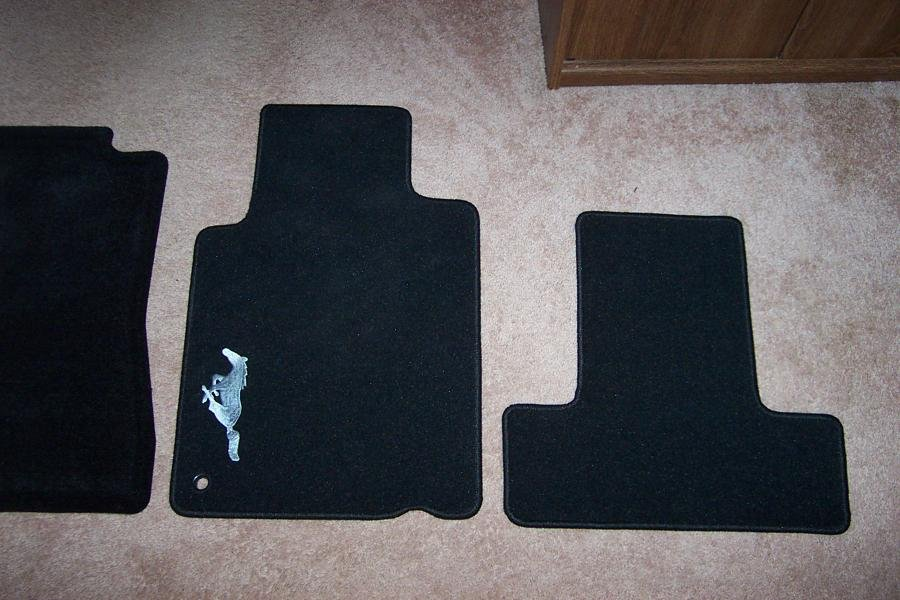 Vinyl Mats From Ford Accessories Page 2 Ford Mustang Forum