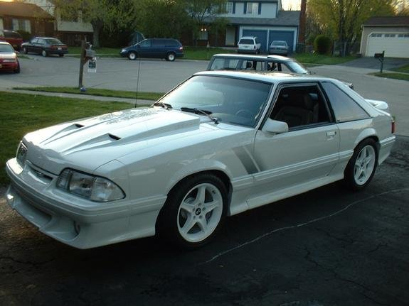 pics of white fox hb 39 s ford mustang forum. Black Bedroom Furniture Sets. Home Design Ideas