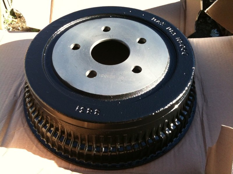 Paint Brake Drums Which Color Ford Mustang Forum