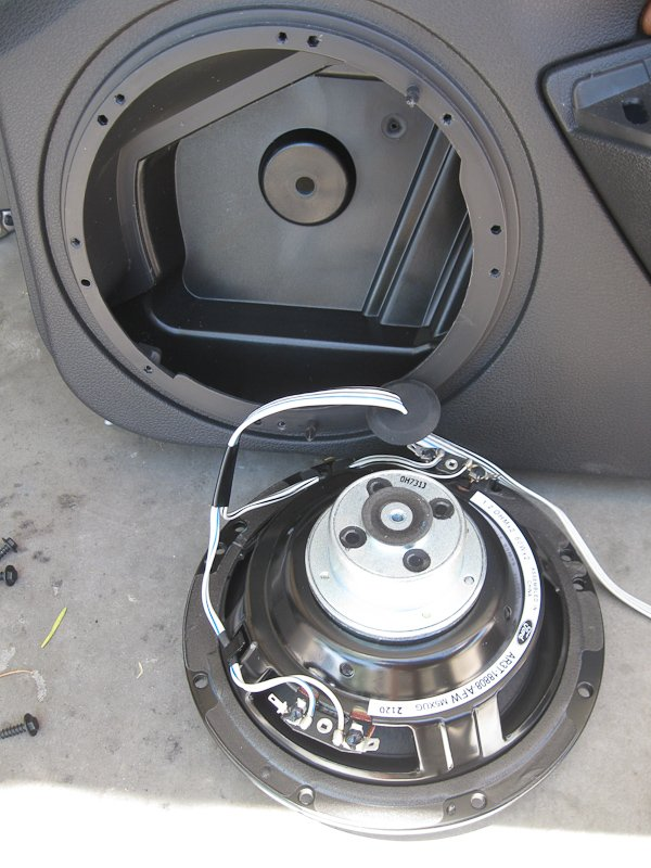Replacing Shaker 500 Speakers in a 2010/2011 Mustang ...
