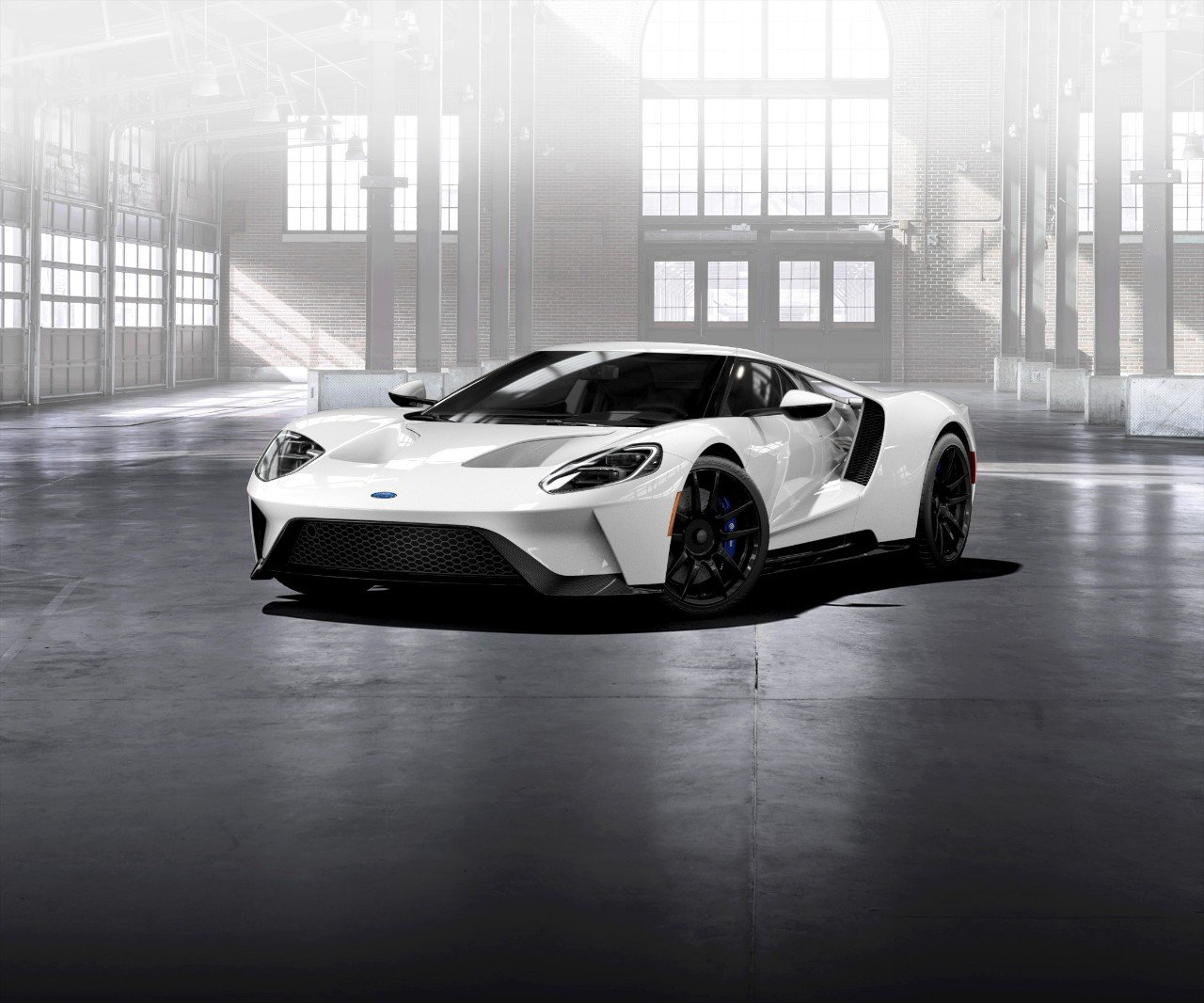 Ford GT Will Stick With Traditional Hydraulic Power Steering