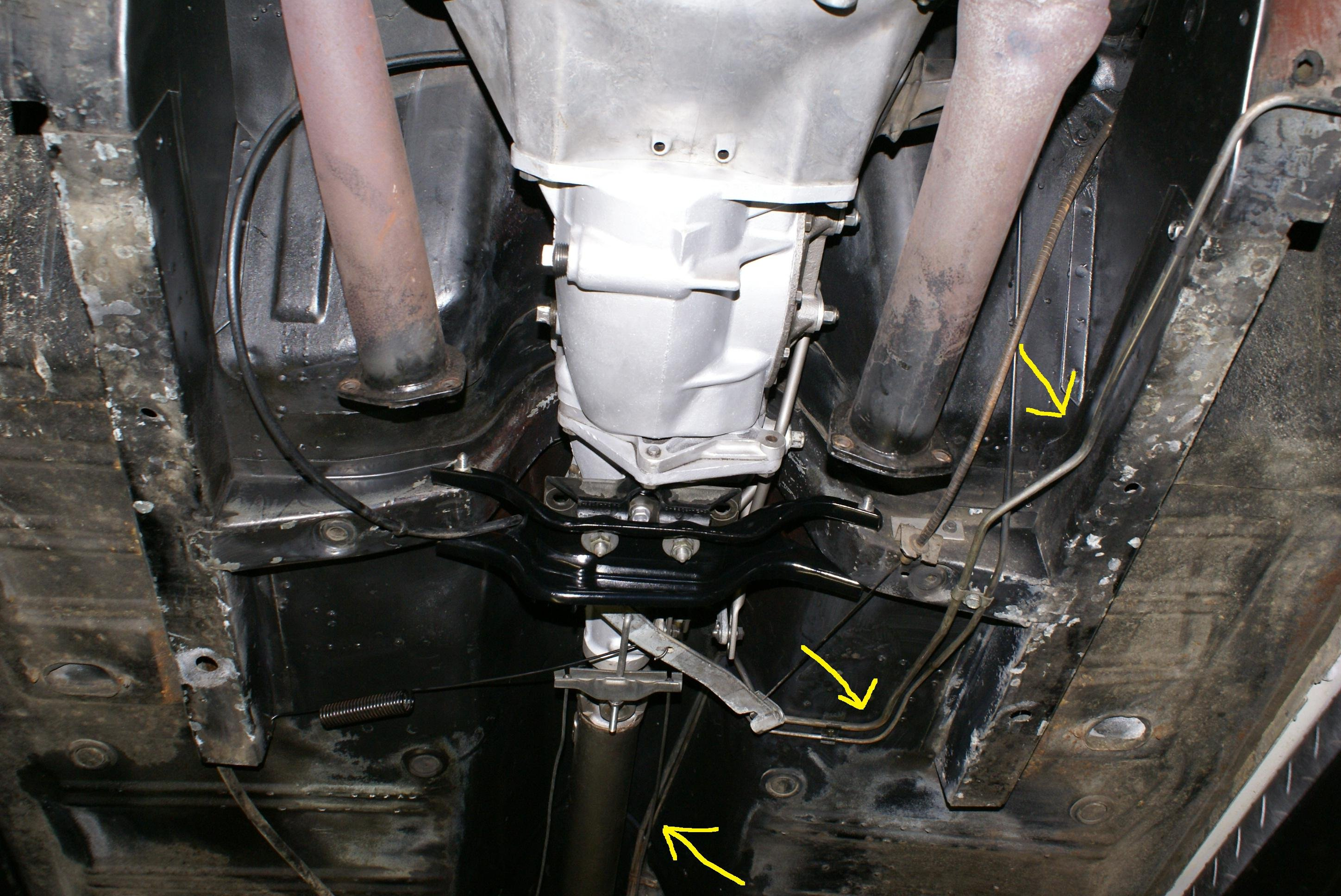 D Mustang V Fuel Line Routing Help Fuel Line on Early Bronco Rear Brake Diagram