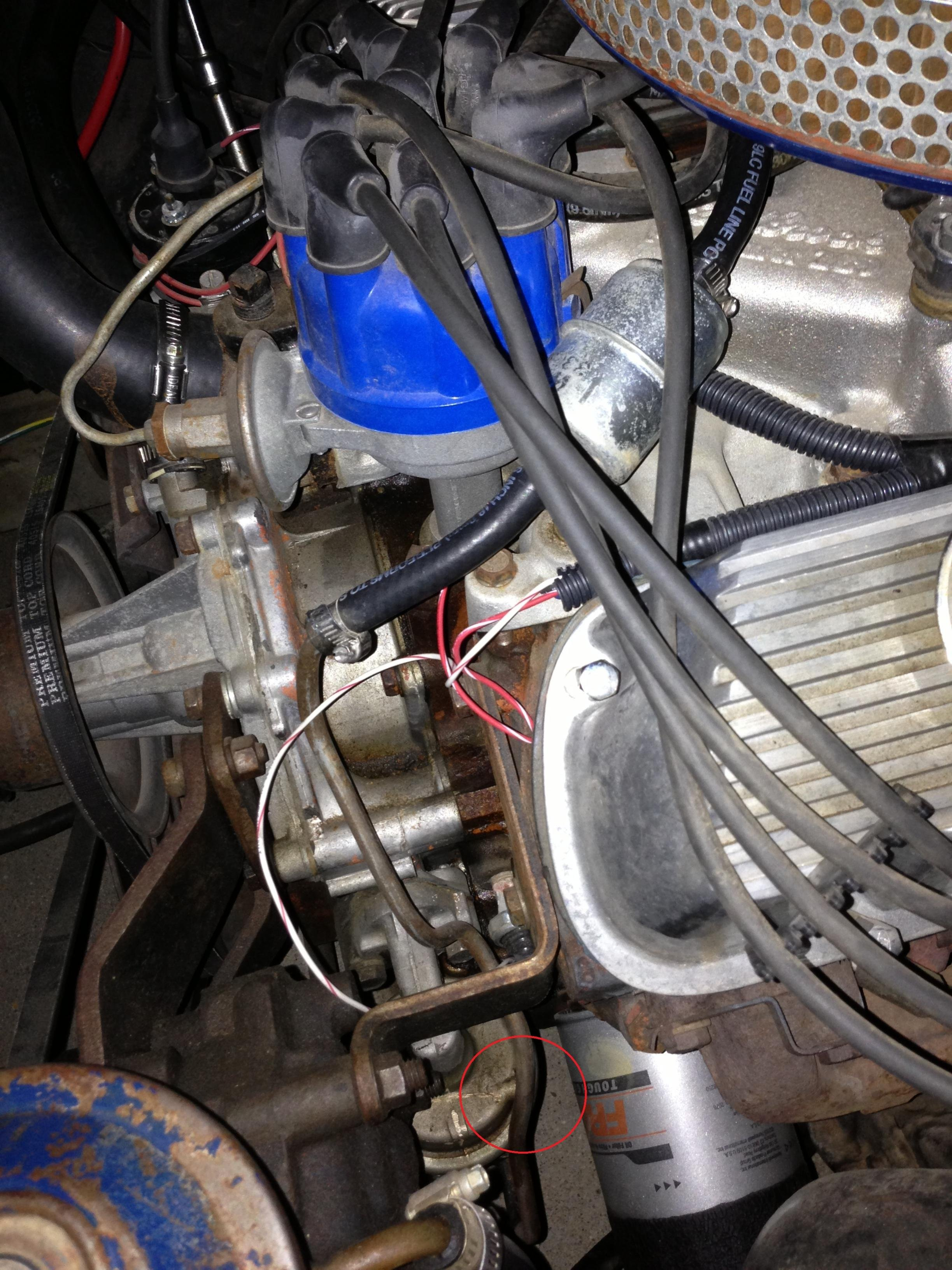 ... Click image for larger version Name: Fuel Pump and Fuel Fiter  Circled.jpg Views