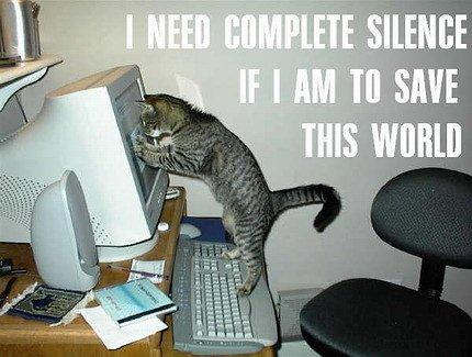 Funny Cat Quotes Clip Art