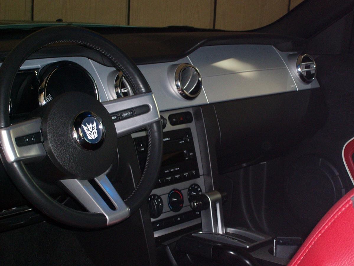 Decepticon Custom Steering Wheel Emblem and GT Emblem ...