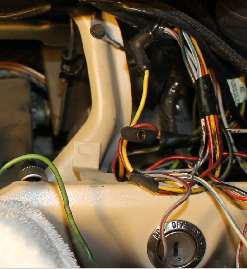 66 Mustang Coupe 289  Under Dash To Firewall Ground Wire