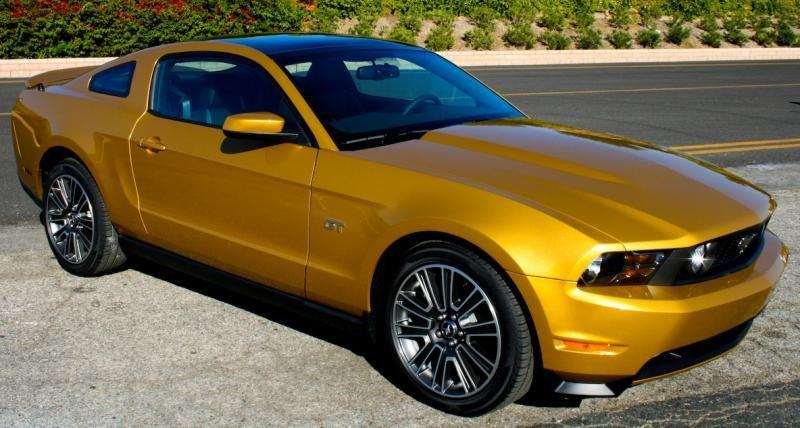 Golden Mustang