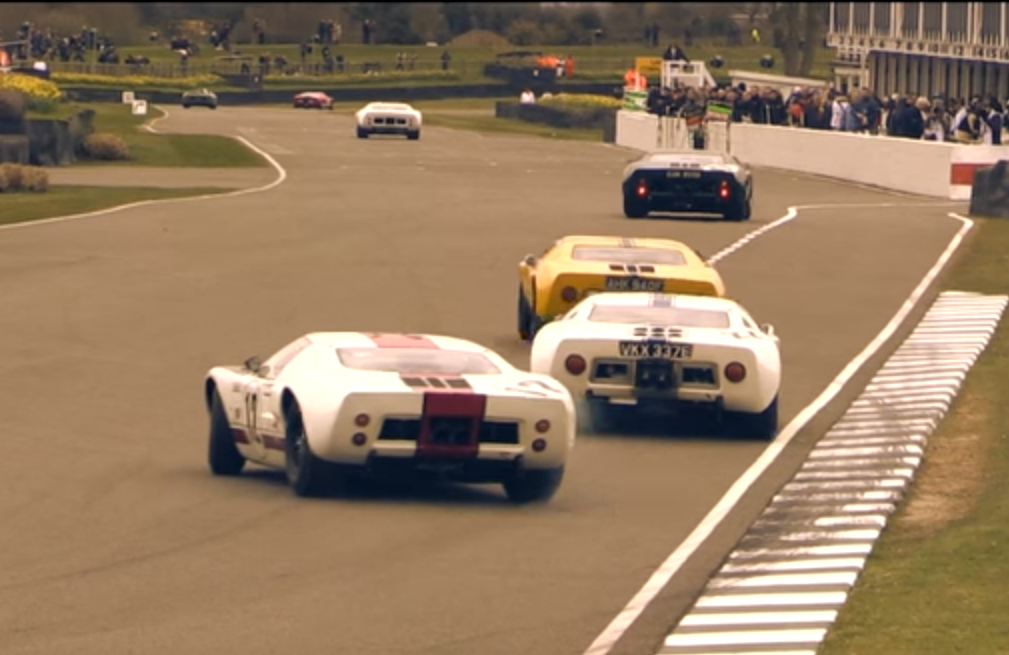 Get a Load of These GT40s Getting Loose at Goodwood