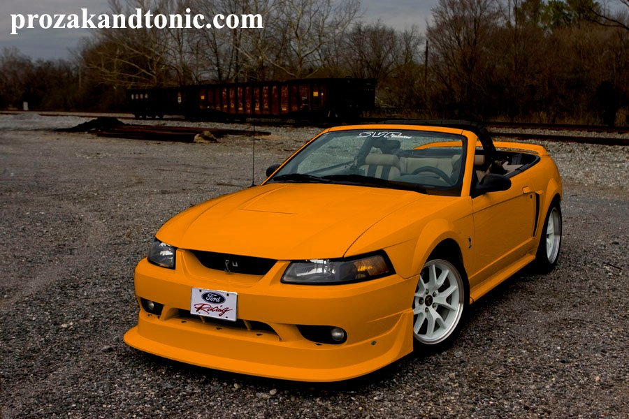 What do you think of my grabber orange 99 Cobra? - Ford ...