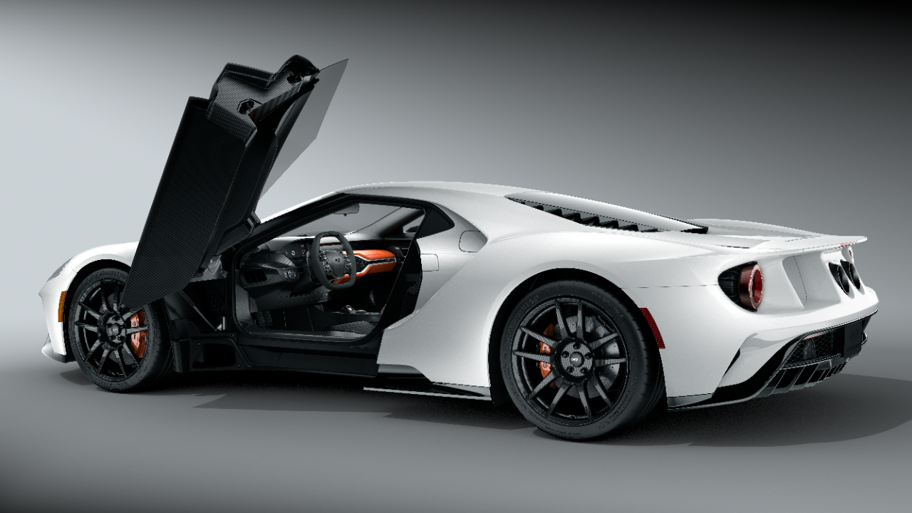 Did You Know There are 5,600 Different Possibilities for the Ford GT?