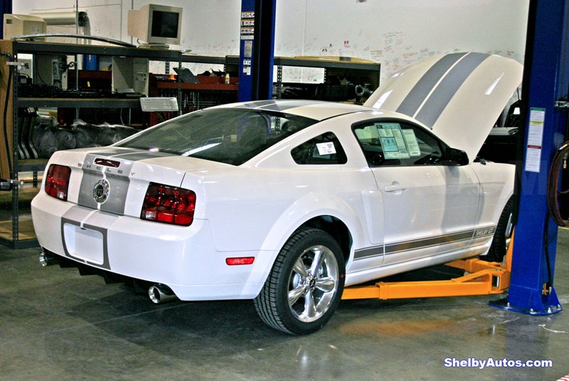 Mustang Hood Scoop >> White stang with blue, red, or silver stripes? - Page 2 - Ford Mustang Forum