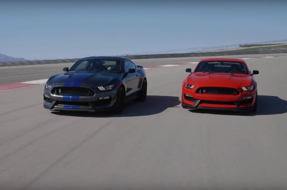 Watch the Shelby GT350 and GT350R Hit the Track. Turn Up Your Speakers!
