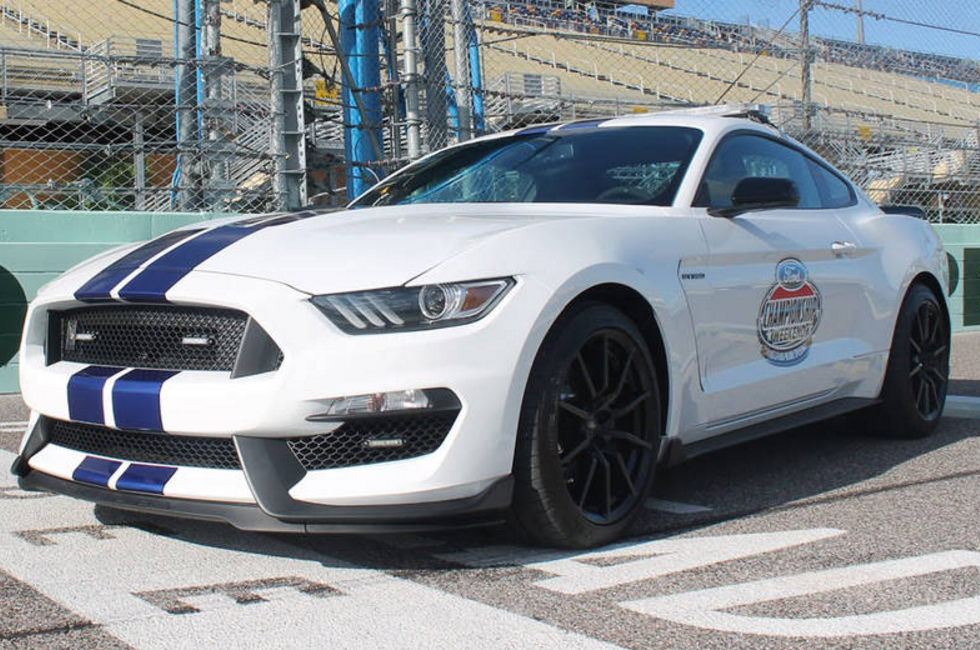 Ford Shelby GT350 Mustang Pace Car 2015 EcoBoost 400