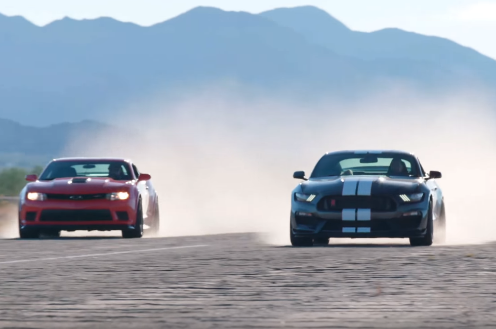Head 2 Head: Once Again, Mustang vs Camaro