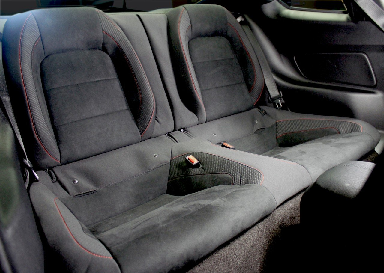 New Back Seat Makes the GT350R Your Dream Grocery Getter