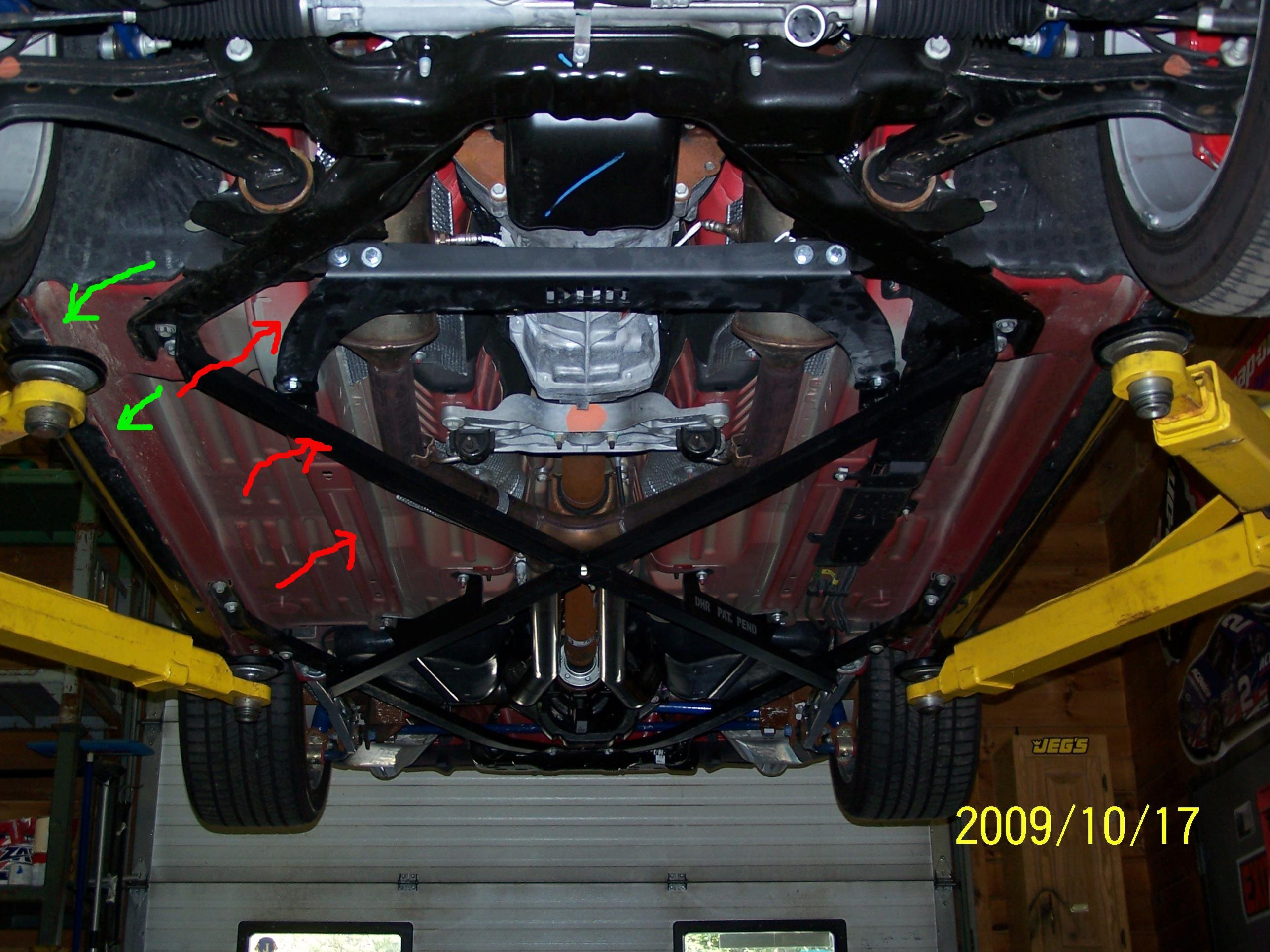 Body Flex Solving In 2010 Convertible Roush Mustang Ford