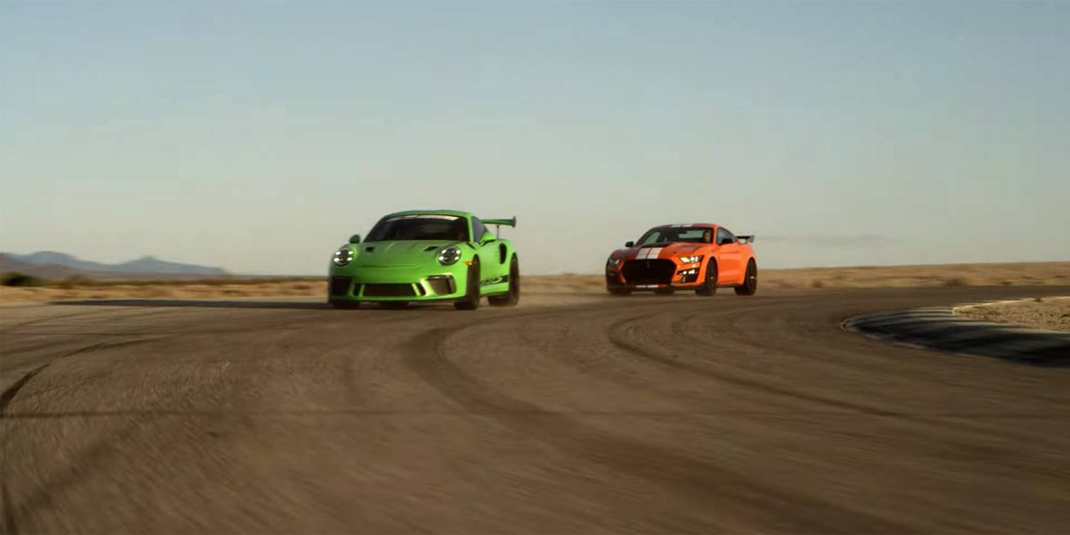 Watch the GT500 Go Toe-to-Toe with a 911 GT3 RS