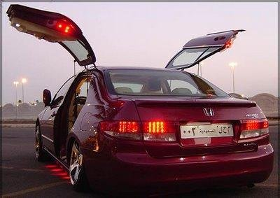 Click image for larger version Name: Gullwing Accord.JPG Views: 56509 Size: & Suicide Doors on a Mustang - Ford Mustang Forum Pezcame.Com