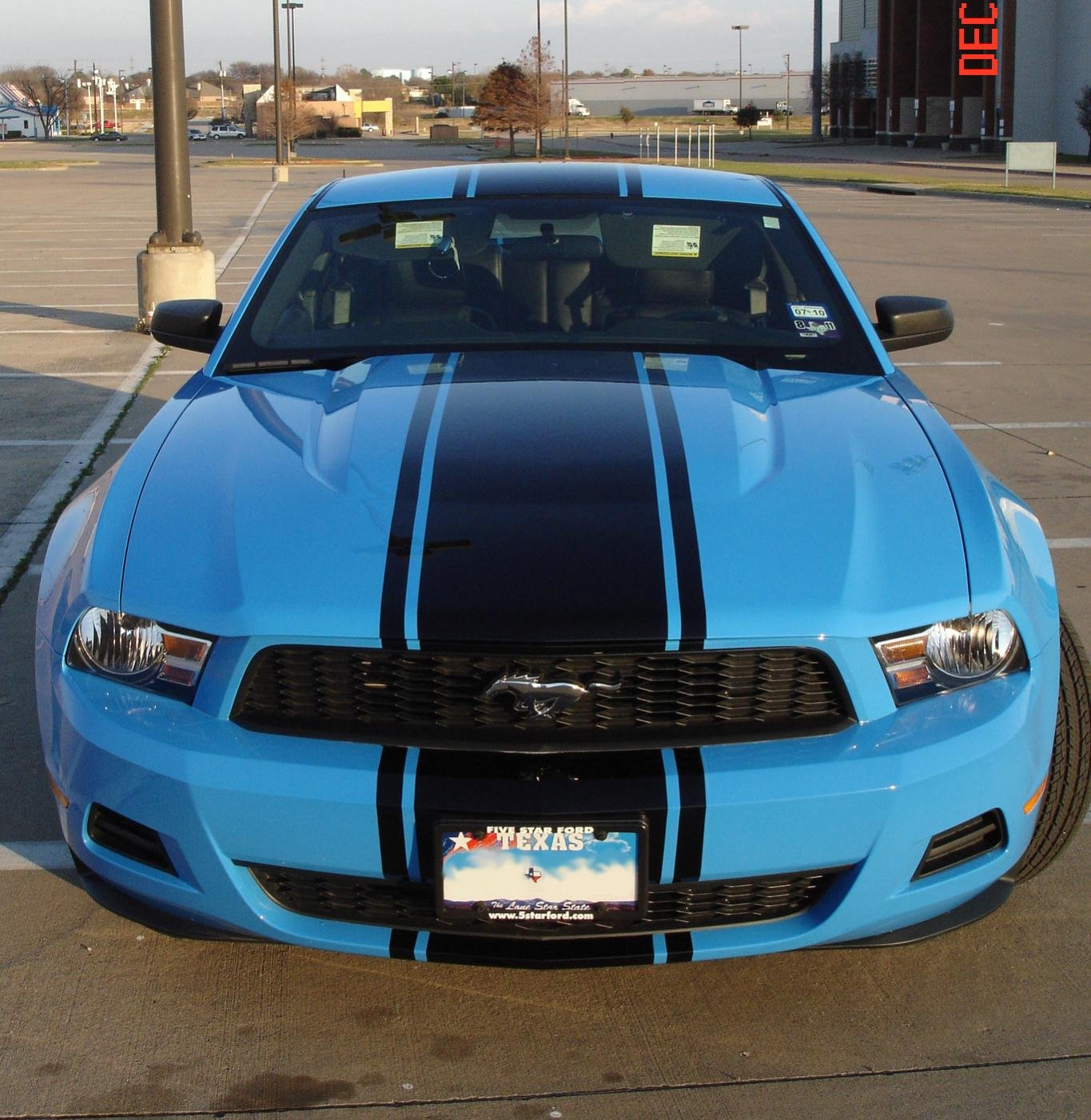 Racing Stripes On V6 Ford Mustang Forum