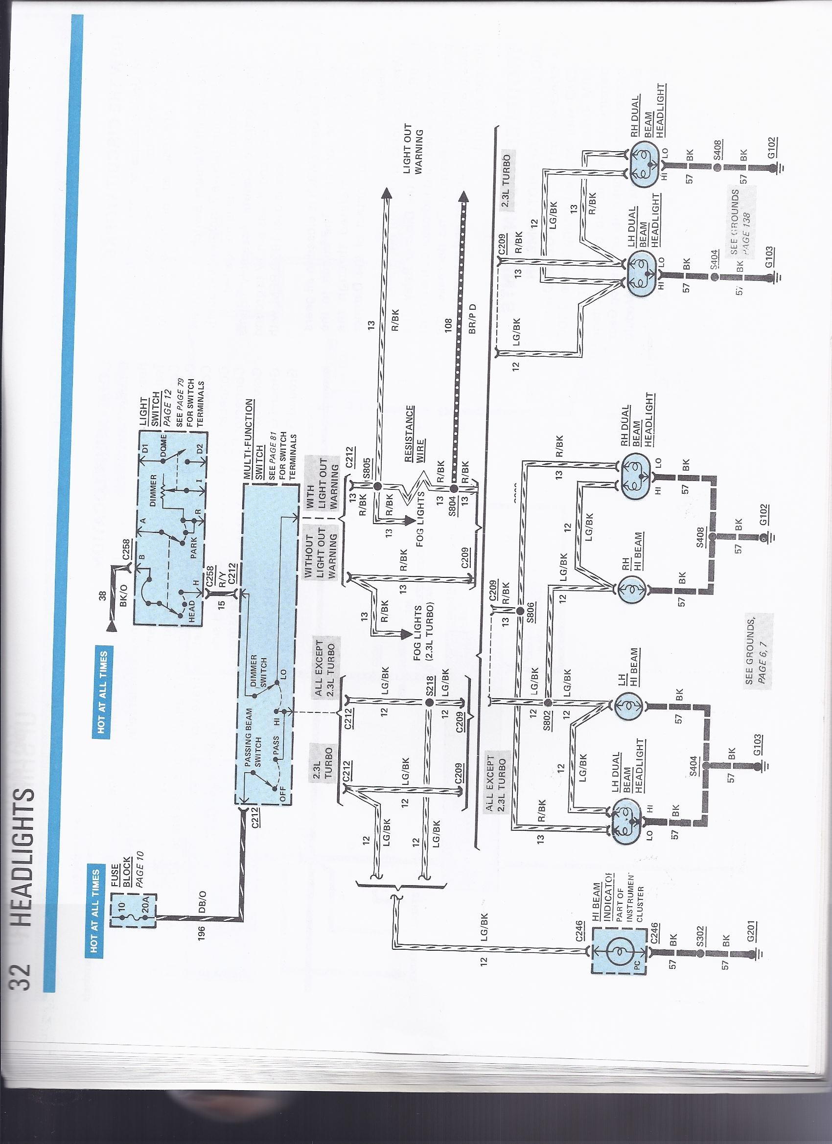 1984 Mustang Fuse Panel Diagram Trusted Schematics Box 84 Wiring Diagrams 99 V6