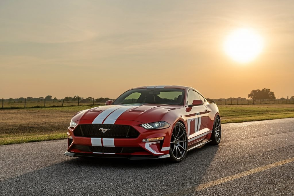 The Hennessey Heritage Mustang is the Company's 10,000th Car
