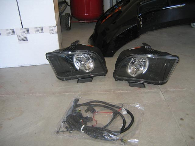 Mustang Performance Parts >> Saleen HID Headlights - Ford Mustang Forum