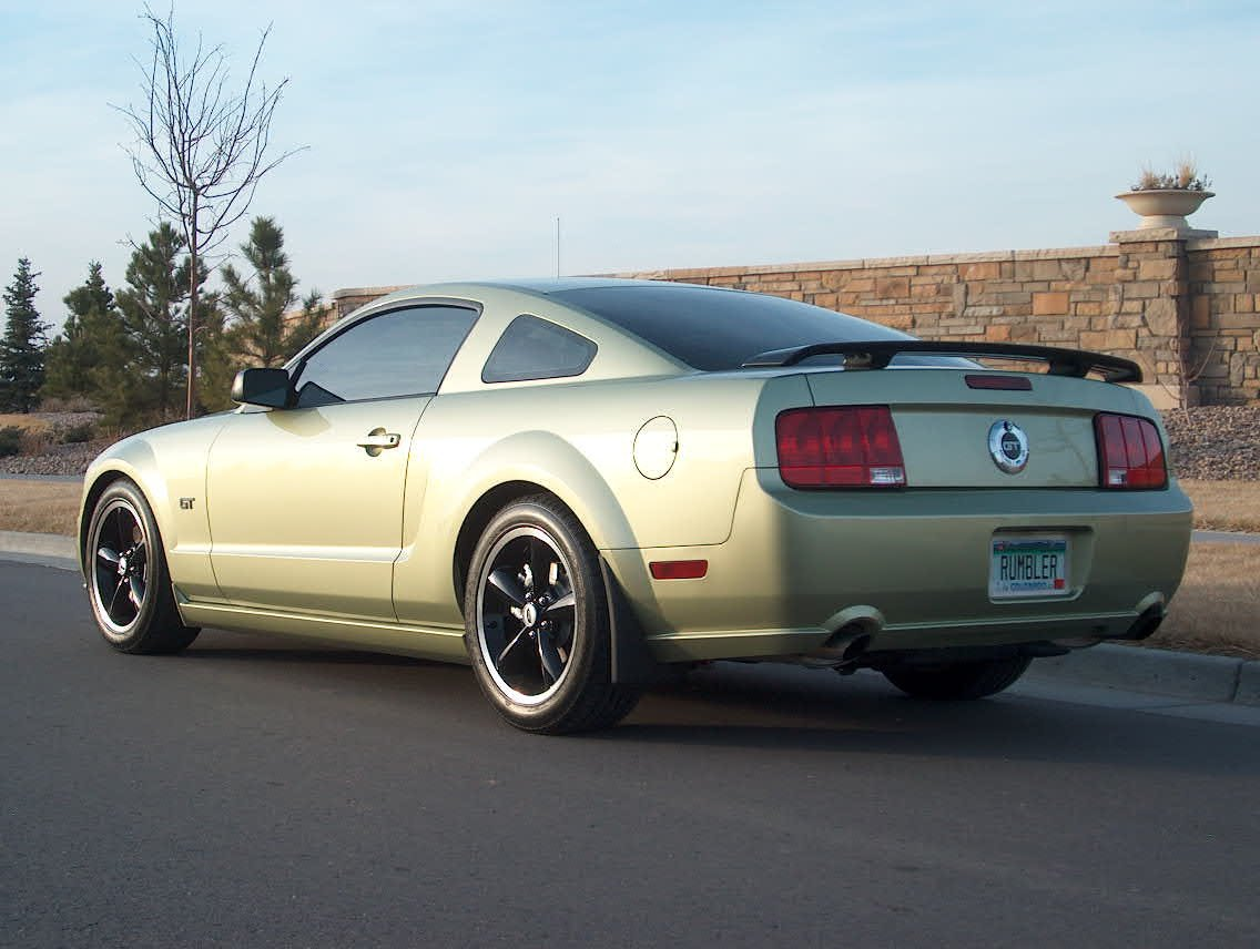 Want To See S197 Mustang With Black Wheels Page 3