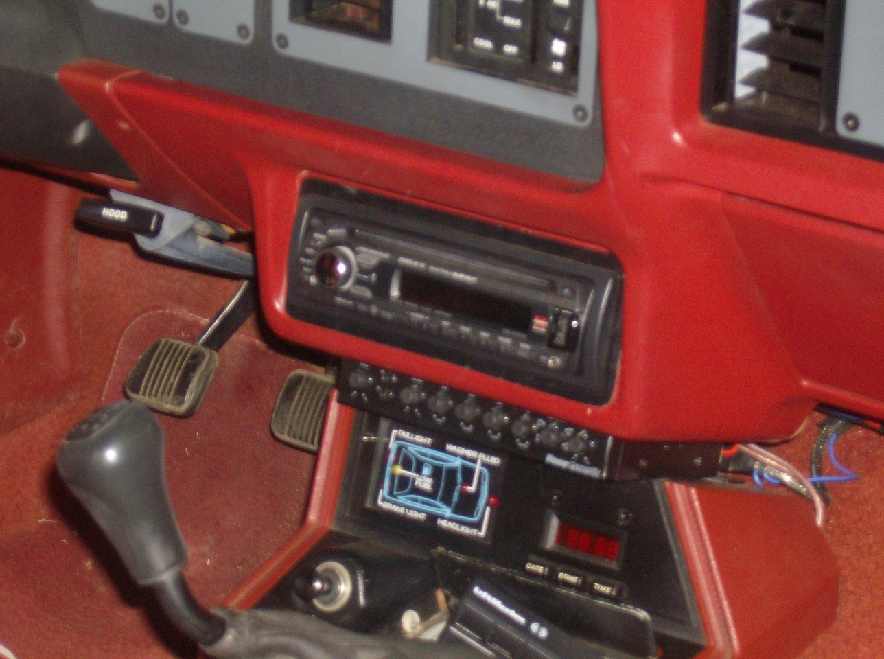 [SCHEMATICS_4ER]  1986 Mustang stereo installation | Ford Mustang Forum | 1986 Ford Mustang Stereo Wiring |  | All Ford Mustangs