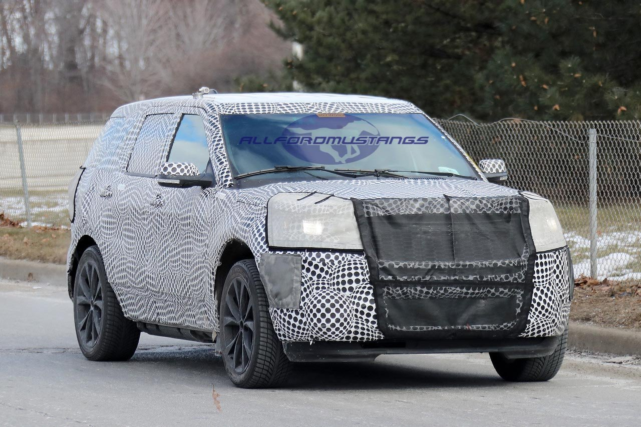 Ford's Upcoming High-Performance Explorer Possibly Spotted for the First Time