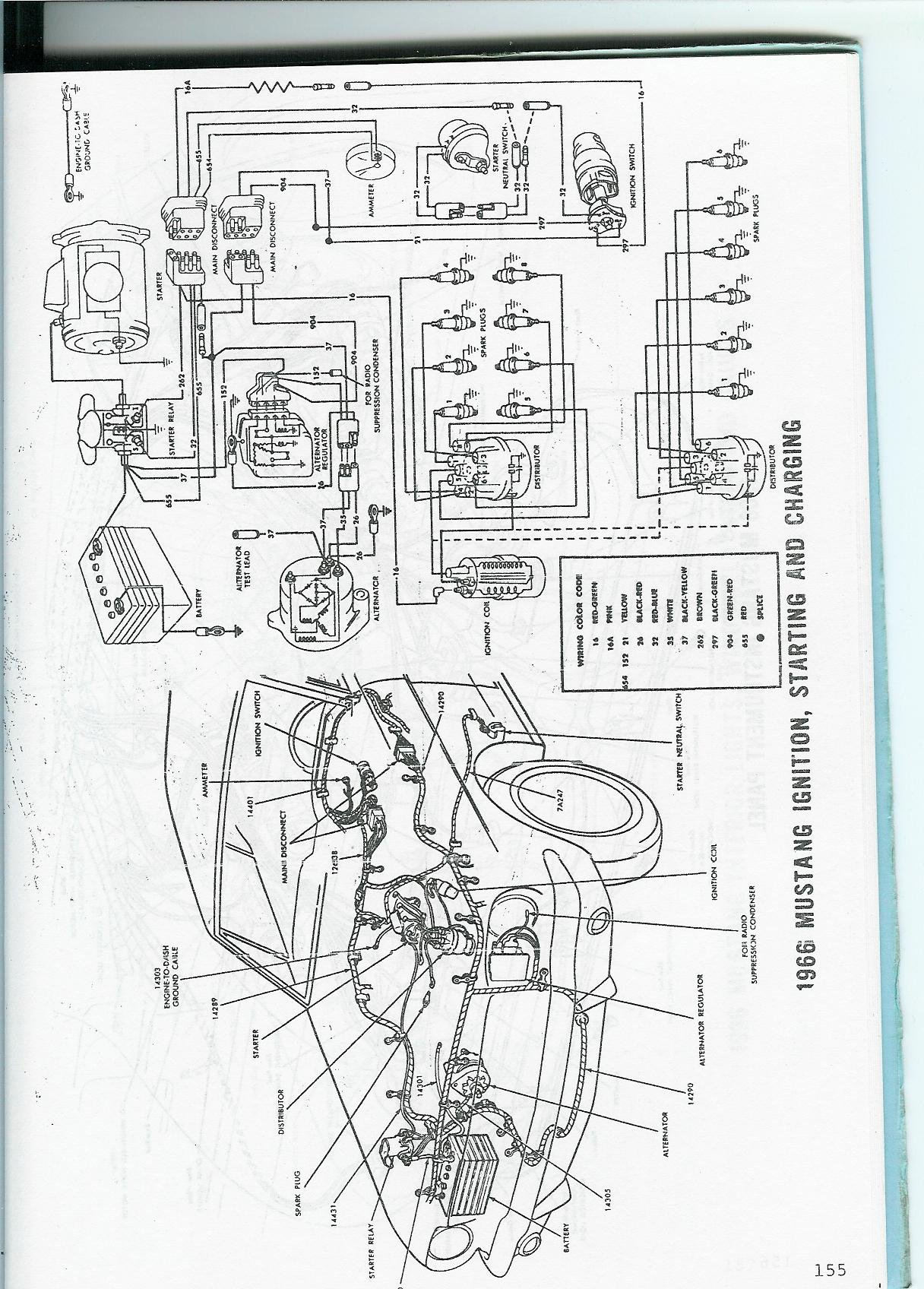 1966 Mustang Wiring Diagram Manual