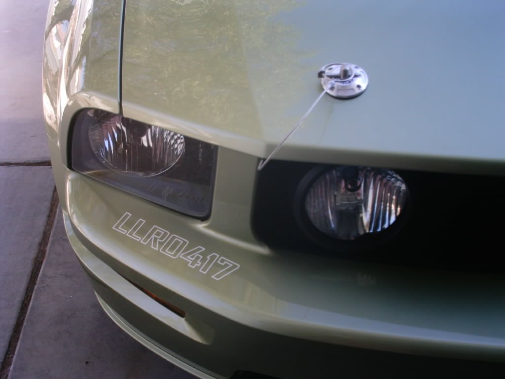 New Shelbygt 500 Opinions On Hood Pins Ford Mustang Forum