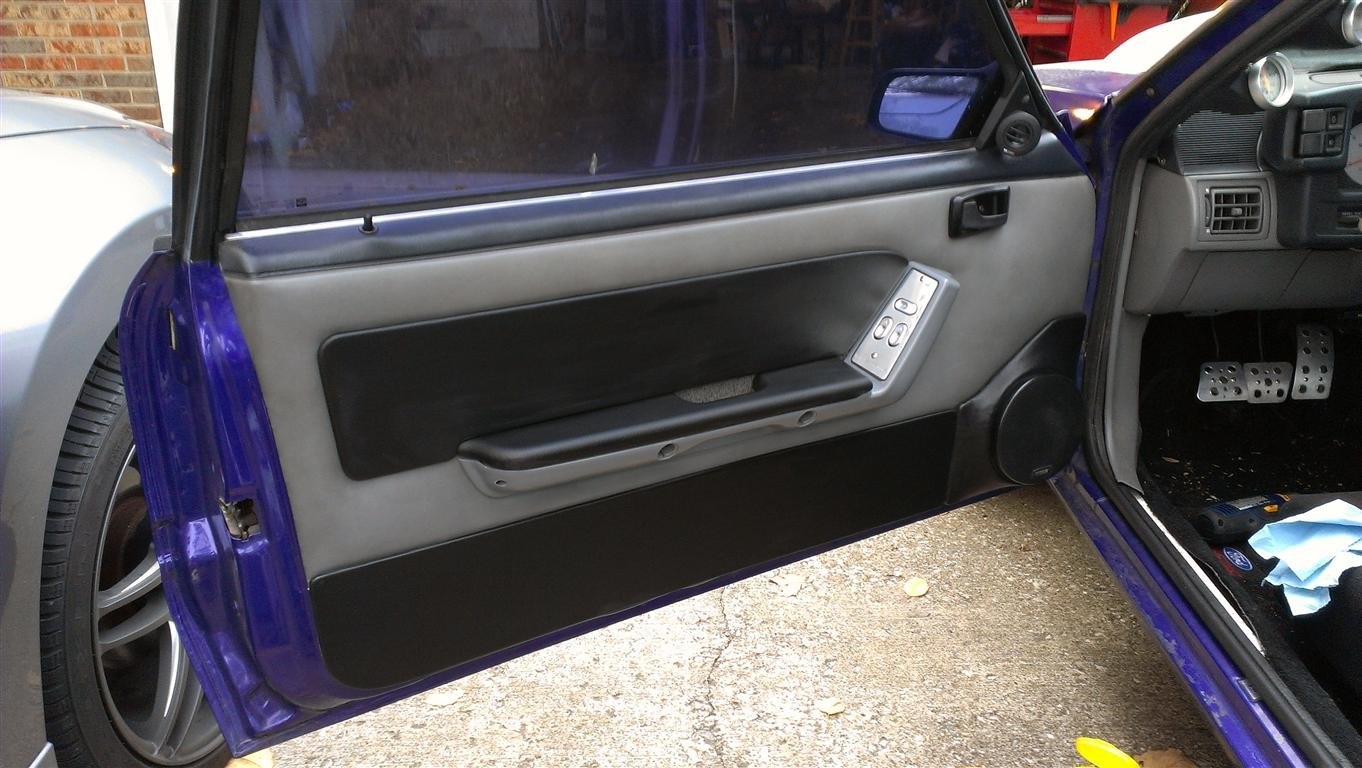 Click image for larger version Name IMAG0023 (Medium).jpg Views 1026 & Door Speaker Pods - Ford Mustang Forum