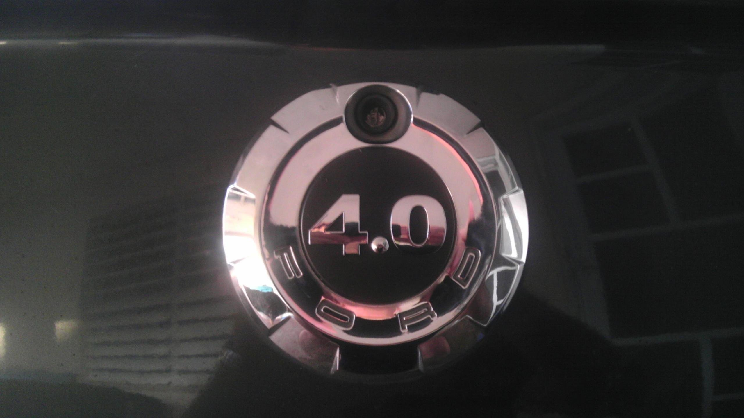 v6 40 fender and trunk emblem ford mustang forum