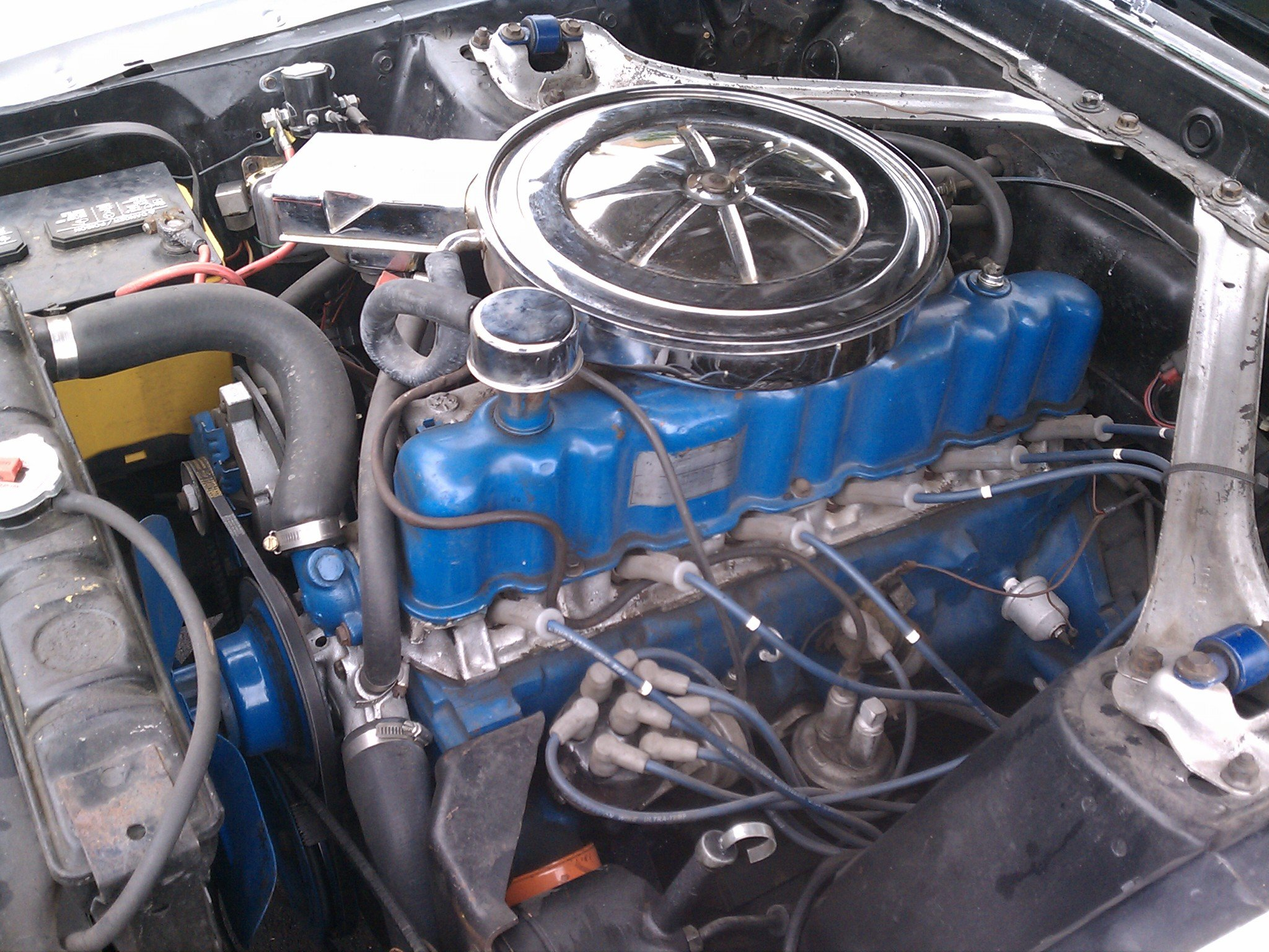 Ford 250 Inline 6 Head http://www.allfordmustangs.com/forums/classic-tech/278602-1969-mustang-250-4-1l-inline-6-questions-2.html